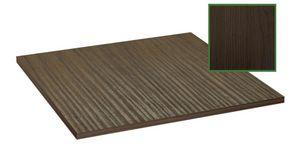 Tapa de la mesa en madera de nogal veteado de melamina, Tapa de la mesa en madera de nogal veteado de melamina