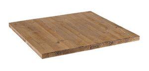 Tapa de la mesa en pino antiguo s�lida, Tapa de la mesa en pino antiguo s�lida