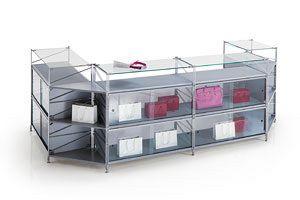 Socrate Contadores, Contador modular para las tiendas de diferentes medidas y acabados