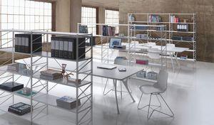 Socrate office, Estanter�a modular para bibliotecas y tiendas