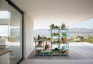 Socrate outdoor, Sistema modular de muebles de exterior