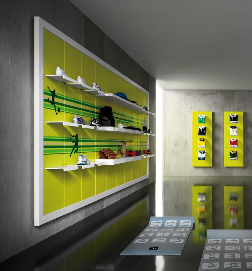Revolution - unidad de pared para tienda de deporte 4abc492a8c4af