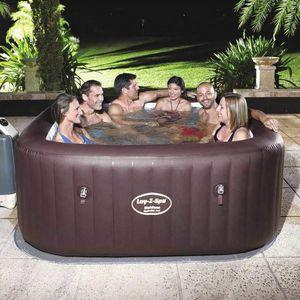 Bañera de hidromasaje inflable Bestway 54173 Lay Z Maldives SPA - 54173, Mini-piscina inflable con hidromasaje