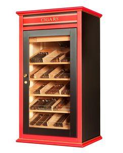 82404 Madison Clima, Gabinete cigarro controlado, adecuado para Tabaquería