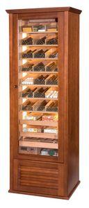 82414 Newman, Humedad controlada gabinete cigarro, para la tienda de tabaco