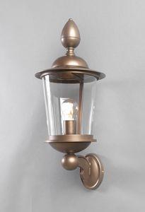 ANTON GL3028WA-1, Linterna al aire libre en hierro y bronce