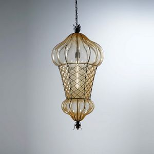 Babà Es105-090, Lámpara de exterior de vidrio soplado