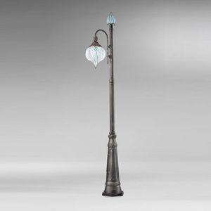Goccia Ep358-250, Lámpara de jardín con un diseño clásico