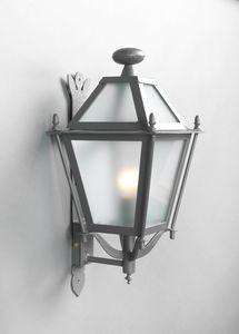 LUNGARNO GL3007WA-1ad, Linterna de hierro de pared