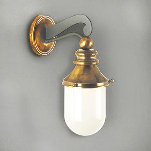 NEMO GL3010WA-1, Linterna al aire libre en hierro con vidrio