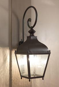 REGGIO GL3035AR, Linterna de hierro montada en la pared para uso al aire libre
