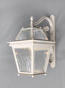 SCALA GL3008WA-MEDUSA, Linterna de hierro con brazo, para uso en exteriores
