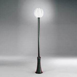Sfera Ep361-225, Poste de lámpara con difusor de esfera