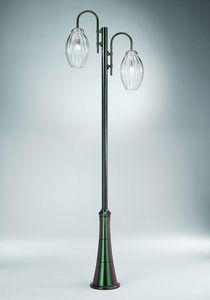 Sfera Ep362-300, Farola con dos difusores de vidrio