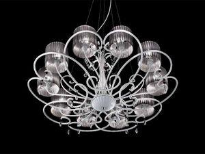 Aida araña, Clásico lámpara suspendida con cristal de Sw cae