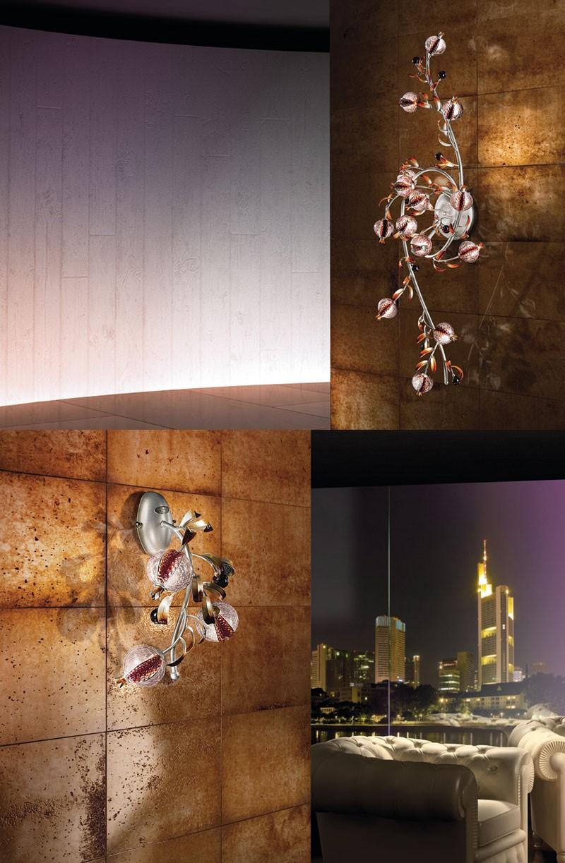 Ametista applique, Lámpara de pared para el hotel y restaurante contemporáneo
