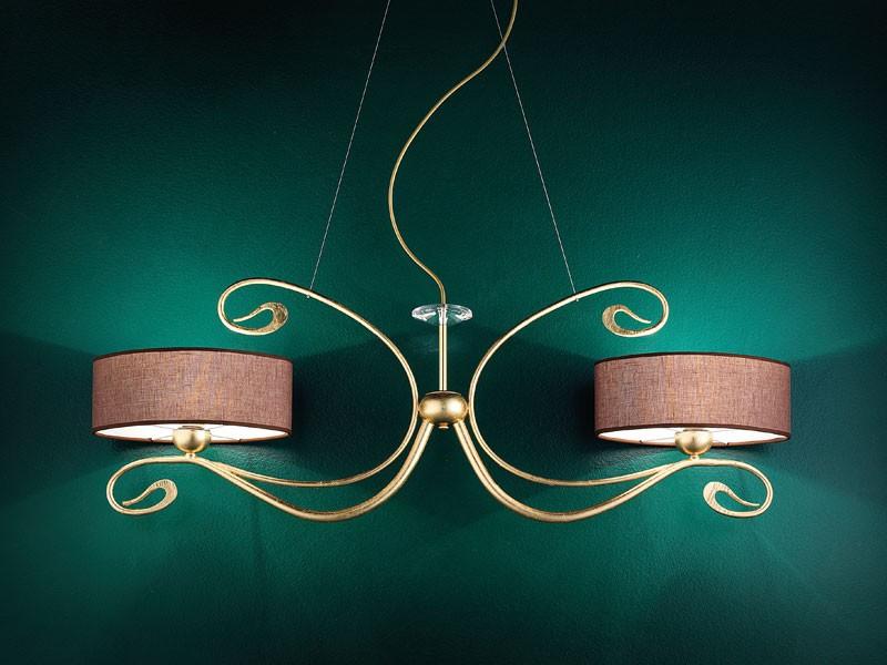 Charme applique, Lámpara de pared clásico de metal forjado a mano