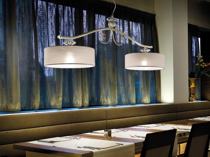 Charme chandelier, Lámpara en estilo clásico, ideal para restaurantes