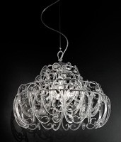 Gemini chandelier, Lámpara de techo con 9 luces para dormitorios modernos