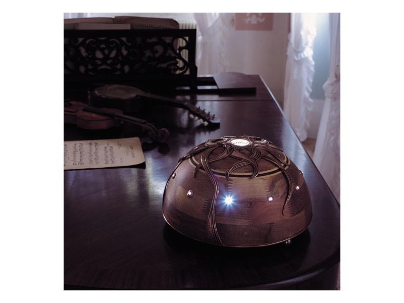 Giunone, Lámpara de la nuez con luz central LED