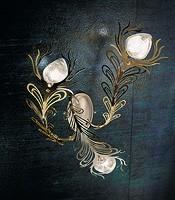 Musa applique, Iluminación de la pared en varias versiones, estilo moderno