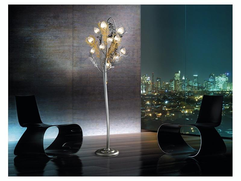 Musa floor lamp, Lámpara de pie refinado para oficinas y salas de estar