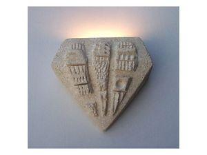 Pegaso, Lámpara de pared de piedra, la luz halógena