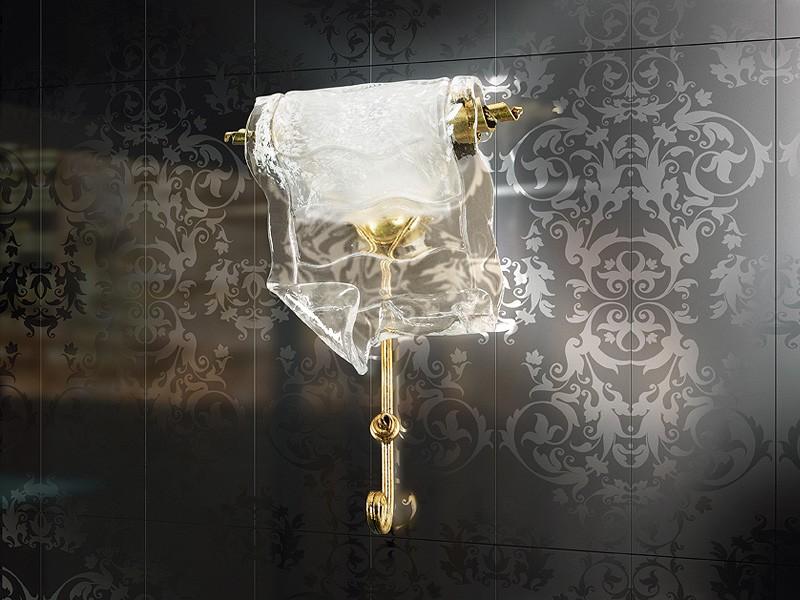 Poeme applique, Lámpara de pared de metal forjado, para contemporany restaurante
