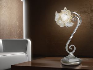 Rose table lamp, Lámpara de mesa de estilo naturalista, para escritorios modernos