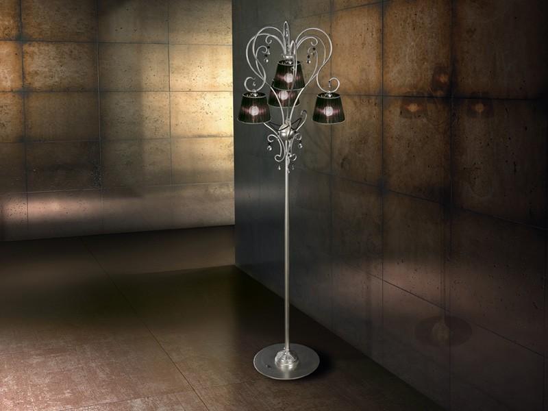 Venezia floor lamp, Lámpara de pie moderna de hierro, para ricos salones