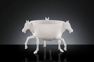 Horse 3 Vase, Florero hecho por artesanos italianos
