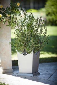 LAMIERE GF4016VA, Jarrón de hierro para jardín
