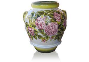 Orcio Rose, Tarro decorado a mano