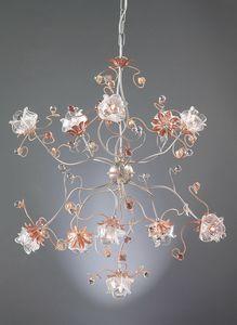 991111, Araña con cristal de Murano