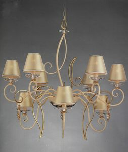 99619, Araña de luces doradas
