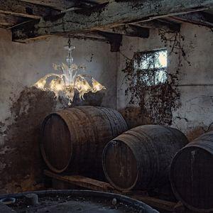 Accadue L0090-6-CK, 6 lámparas de araña en estilo veneciano