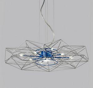 ALTATENSIONE Ø 90, Lámpara de suspensión led con dimmer