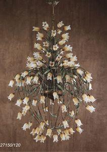Art. 27150/120 Butterfly, Araña con elementos florales