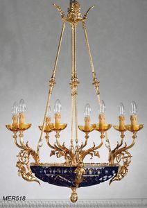Art. MER 518, Araña clásica con cuenco de cristal
