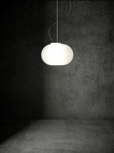 Babà lámpara de suspensión, Lámpara de suspensión con un difusor elíptico
