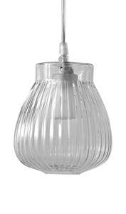Ceraunavolta SE135 1S INT, Lámpara de vidrio suspendido con diseño clásico