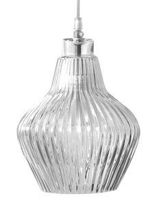 Ceraunavolta SE135 5S INT, Lámpara de techo en cristal claro