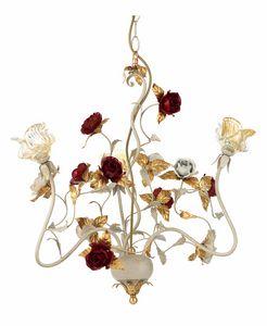 Claire LA/3, Araña con rosas decorativas