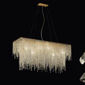 Crystal Dream R SS4085R-110x30x55-K1, Lámpara de techo de cristal para hoteles