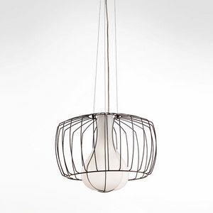 Custodito Ms439-030, Elegante lámpara de suspensión en cristal