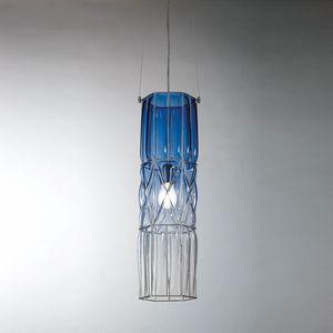Eclissi Rs192-090, Lámpara de suspensión de vidrio