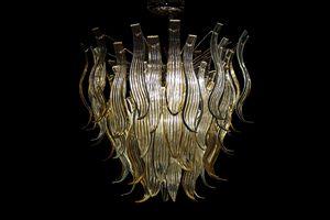Eden araña, Lámpara hecha a mano de vidrio