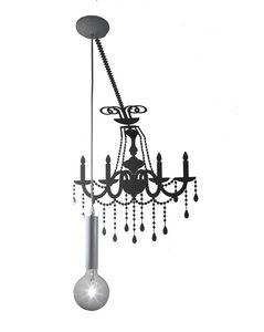 Ghost SE634P, Lámpara con pegatina que simula la sombra de una vieja araña