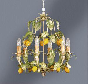 L.4885/6, Lámpara con decoración de hojas y limones