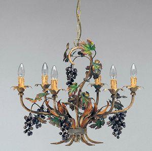 L.5190/6, Araña con decoraciones en forma de racimos de uvas
